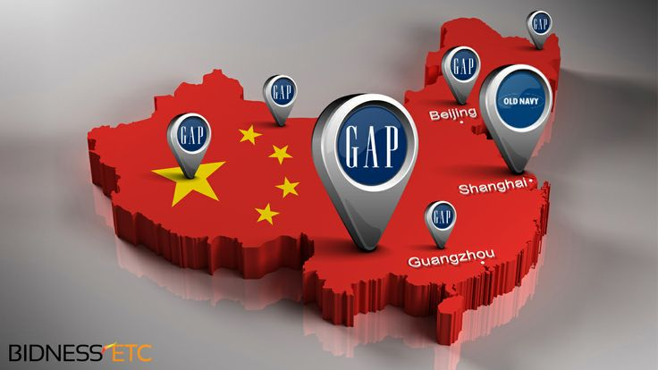 The Gap, Inc. (GPS) announced in March this year that it planned to open 35 stores in China during the year as it diversified out of the sluggish US market, which currently contributes 78% of its consolidated revenues.
