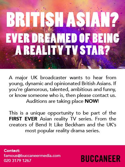 UK casting call for reality show