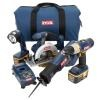 18-Volt ONE+ Ni-Cad Battery 4-Tool Super Combo Kit