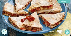 Gevulde tortilla's met kip #Lidl #Kiesgezond #LekkerLidl
