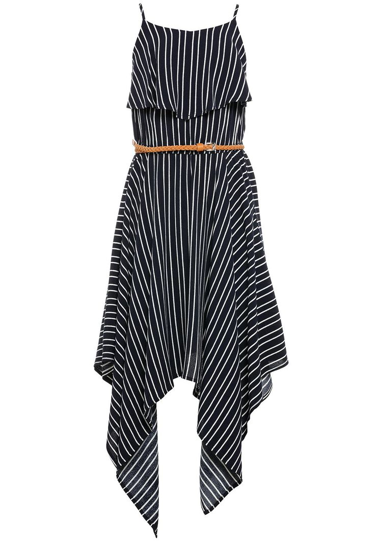 Stripe drape dress - Bardot Junior