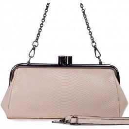 Fashion White Small Leather Cross Body Chain Shoulder Bag | Free Delivery | Fabhere.com.au