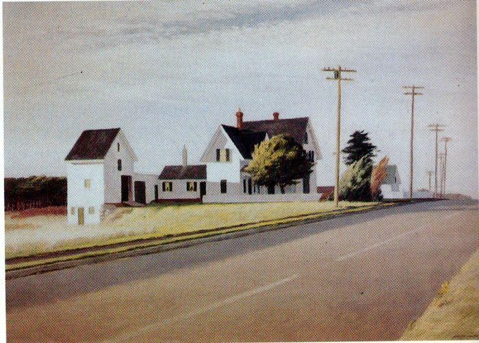 Edward Hopper (1882-1967)  ~ Route 6, Eastham, 1941
