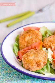 Nuggets de merluza, ricos y nutritivos. Una receta con Thermomix fácil y riquísima, sin duda una receta para niños que gustará a todos. No os la perdáis.