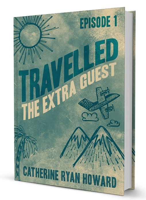 The cover of TRAVELLED: Episode 1 -- The Extra Guest, coming to Kindle at the end of April 2013