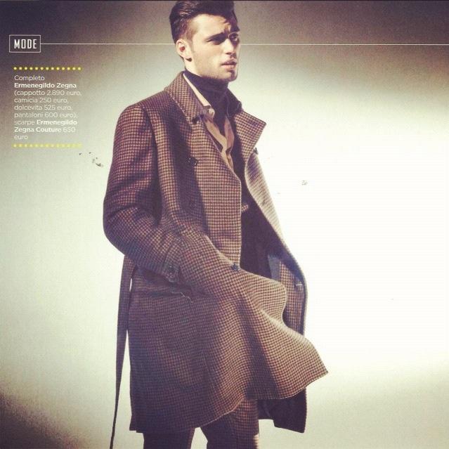#Ermenegildo #Zegna for GQ Italy - Issue October 2012