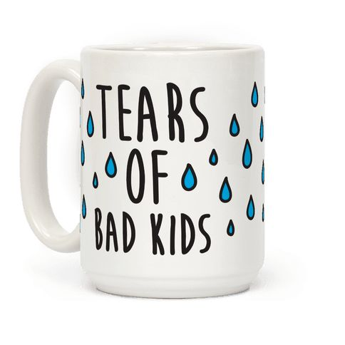Tears Of Dangerous Youngsters Espresso Mug | LookHUMAN