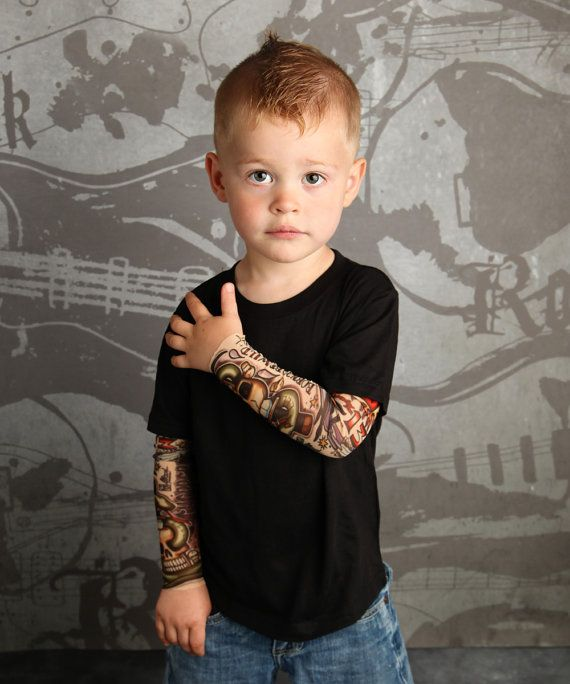 Tattoo Baby Born to Be Wild T shirt for Babies and Kids by TotTude, https://www.etsy.com/listing/121663002/tattoo-baby-born-to-be-wild-t-shirt-for $25.00
