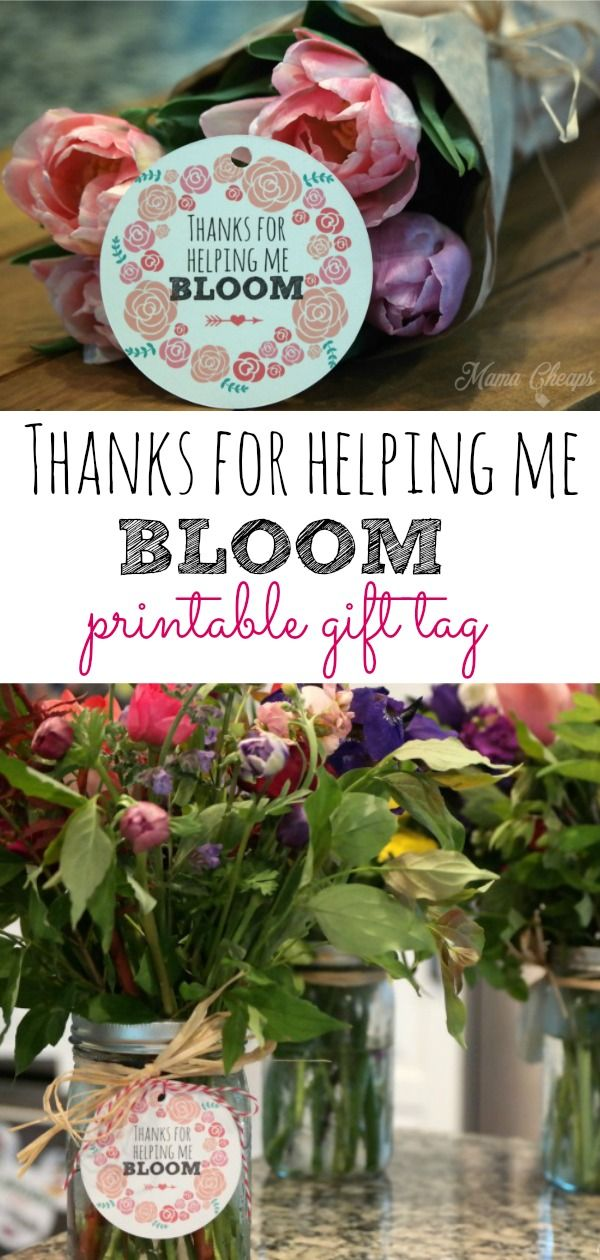 39++ Thanks for helping me bloom free printable ideas in 2021