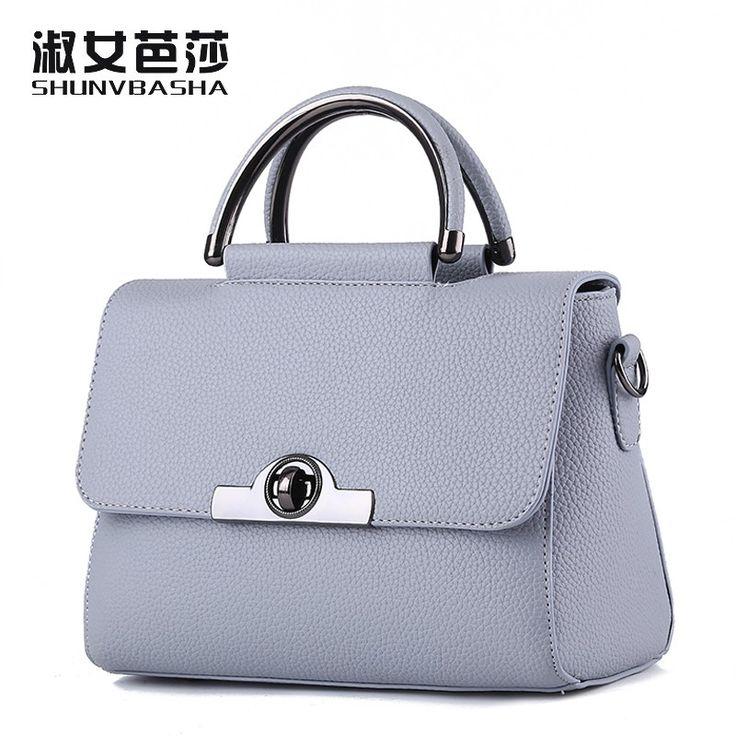 SNBS 100% Genuine leather Women handbags 2017 New Commuter Bag Fashion Handbag Crossbody shaping Shoulder Handbag