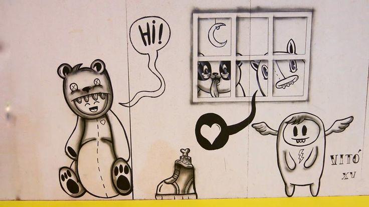Trabalho Urban-Art by VITÓ