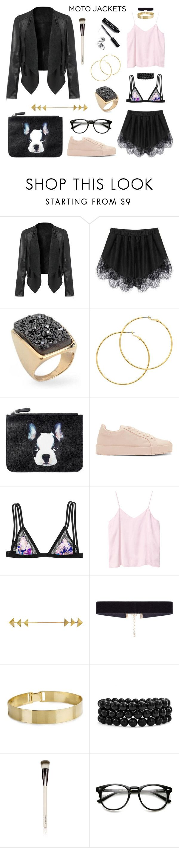 """Sexy Nerdy"" by cristina-daniela-munteanu ❤ liked on Polyvore featuring NOVICA, Melissa Odabash, Monki, Jil Sander, Victoria's Secret, 8 Other Reasons, Bling Jewelry, Chantecaille, Bobbi Brown Cosmetics and Pink"