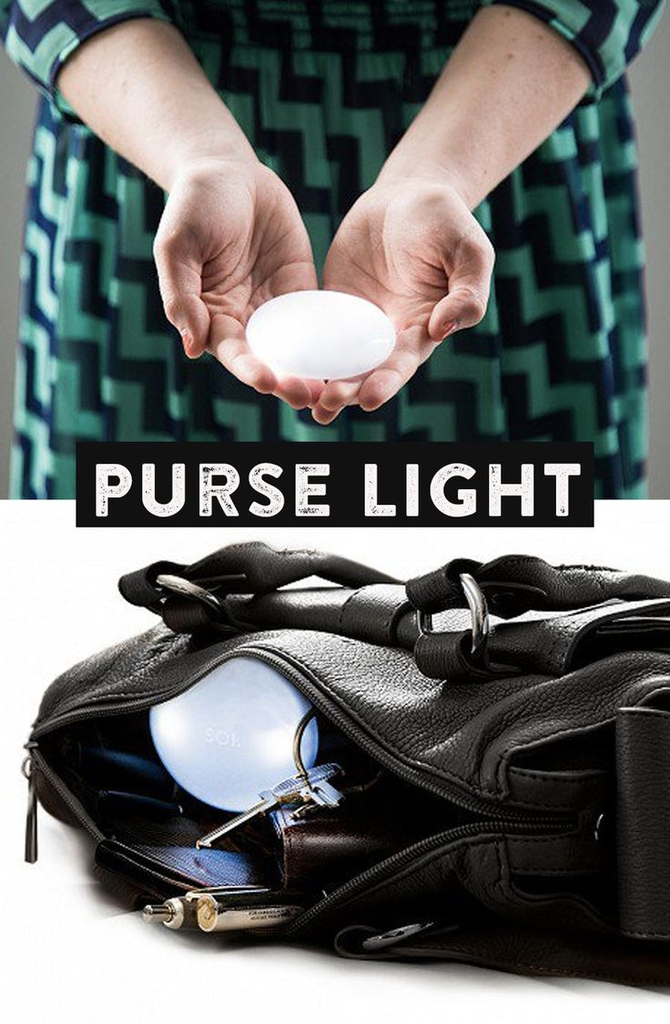SOI puts an end to blindly rummaging through your purse or backpack to find keys, wallet, or a pen. It turns on when it senses your hand.