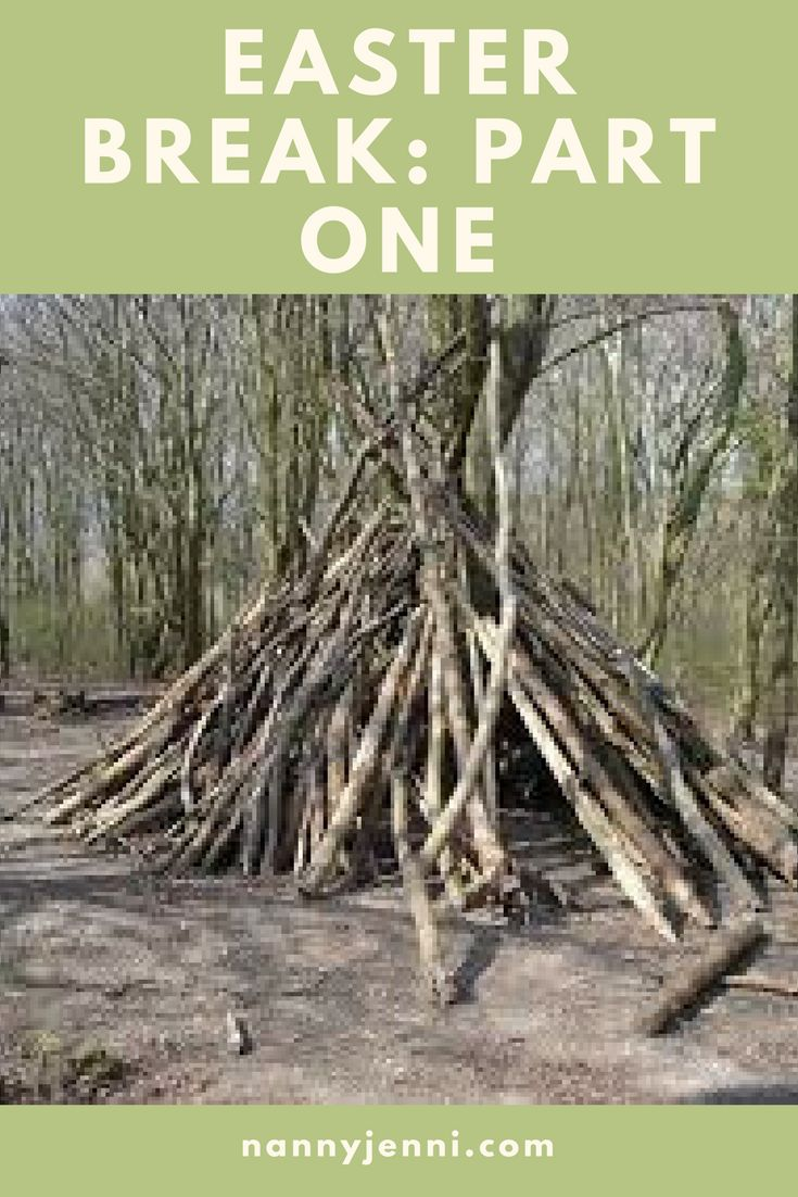 It's the Easter break! The kids I have been busy out and about and building our very own wigwam! To find what else we have been up to then have a read!