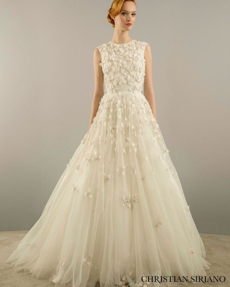 25 best ideas about christian siriano on pinterest for Kleinfeld wedding dresses with sleeves