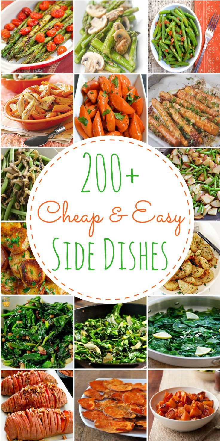 This is a comprehensivelist of cheap and easy side dishes. You would never guess how inexpensivethese side dish recipes are because they are packed full of flavor!These side dishes take under 20 minutes to prepare and are mostly under 5 ingredients (not counting things you already have in your pantry like spices, seasonings, flour, oil … … Continue reading →