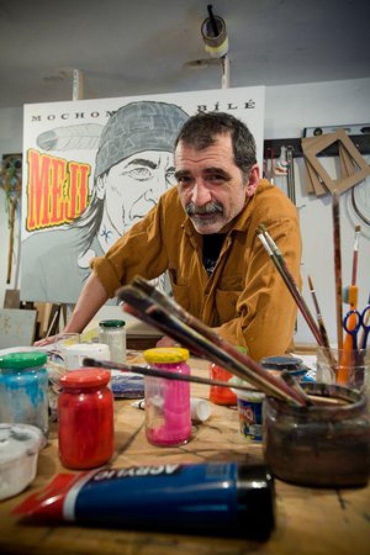 Divoké deväťdesiate a nielen tie boli ako vystrihnuté z jeho komiksov a karikatúr. Výtvarník JOZEF GERTLI DANGLÁR oslavuje päťdesiatku.