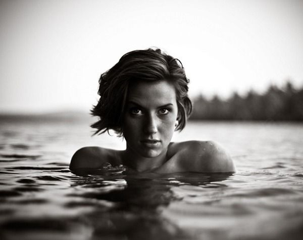 Saved / Black And White Female Portraits 10_3 — Designspiration