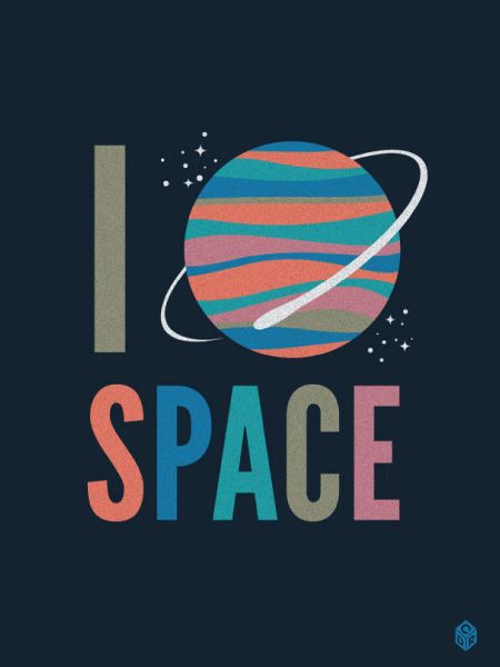 <3 Space: Wall Art, Heart Spaces, Spaces Camps, Posters Design, Colors Palettes, David Ryan, Christopher David, Spaces Prints, Outer Spaces