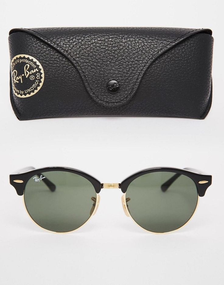 Image 2 - Ray-Ban - Lunettes de soleil rondes Clubmaster
