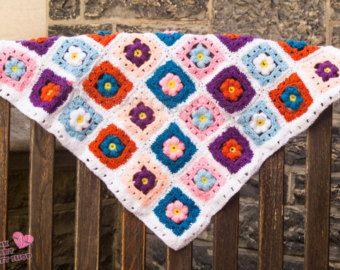 crochet baby blanket  https://www.etsy.com/ca/listing/486158887/crochet-baby-flowers-blanket-cozy?ref=listing-shop-header-1