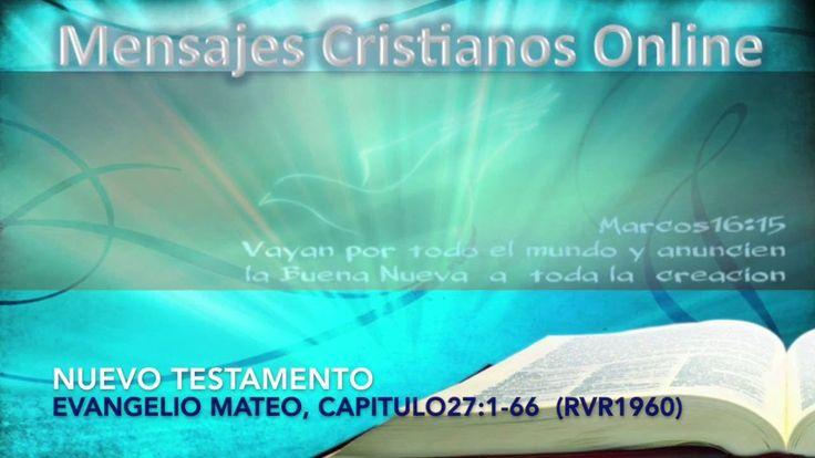 31) NUEVO TESTAMENTO -  MATEO27:1-66 - LA BIBLIA HABLADA  - ESTUDIOS BIB...