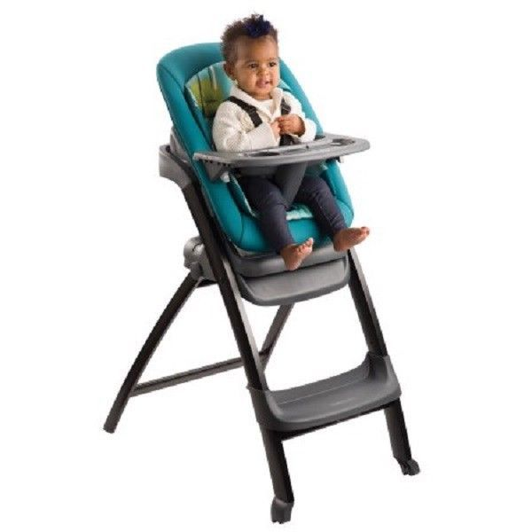 Foldable High Chair Space Saver Convertible Adjustable Travel Baby Booster Seat #Evenflo