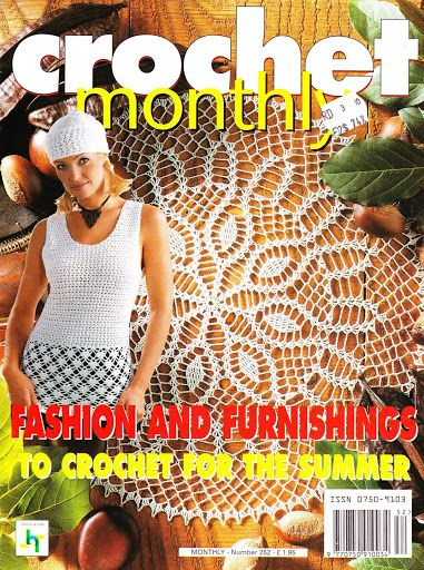 Crochet Monthly Magazine : Crochet Monthly 252 - Lita Z - Picasa Web Albums