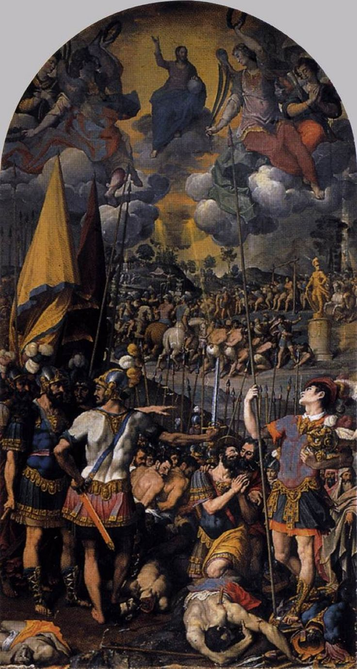 Cincinato, El martirio de San Lorenzo, 1583