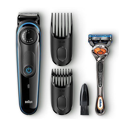 Hair Beard Trimmer Shaver Men Style Clipper Cut Electric Mustache Barber Set Kit #BeardTrimmer