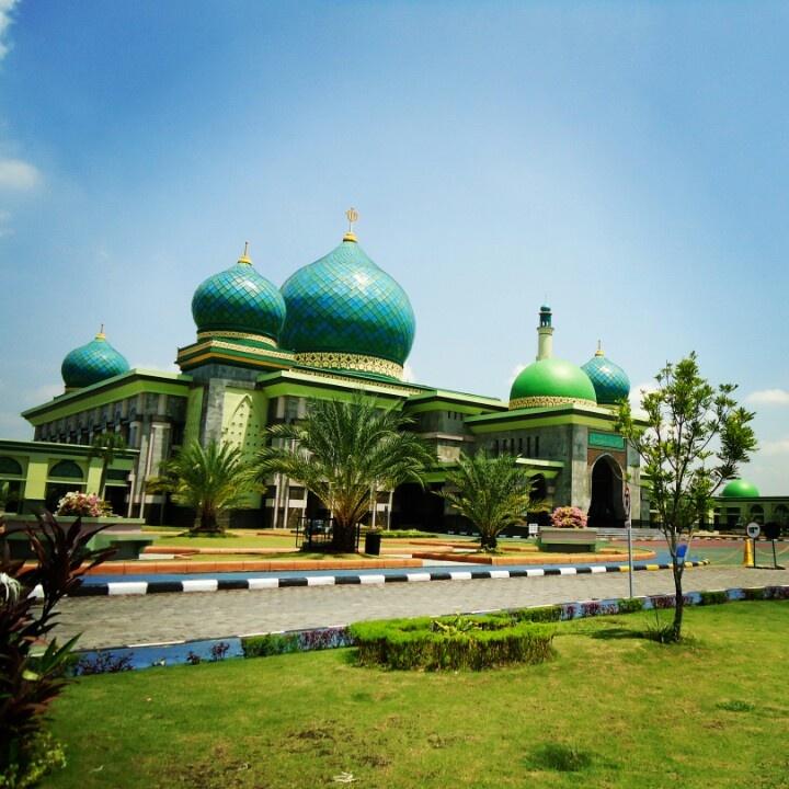 The great mosque of pekanbaru, Riau, Indonesia