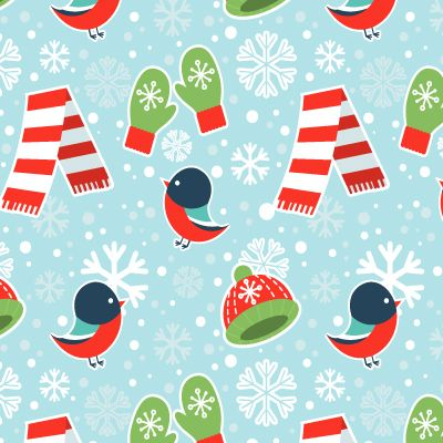 . In this tutorial we will get inspired by this magical season and create a cute winter seamless pattern consisting of simple objects. We will go through the process of creation of every element in Adobe Illustrator and end up with forming a swatch using the Pattern Tool. Let's get started! | Difficulty: Intermediate; Length: Long; Tags: Illustration, Vector, Adobe Illustrator