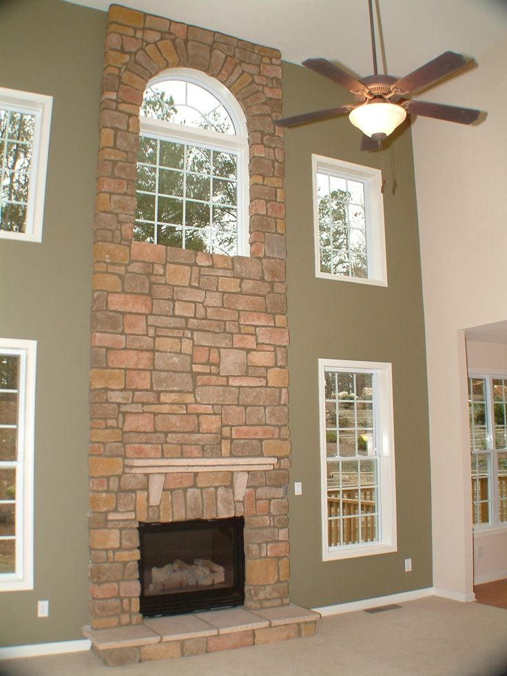 Two Story Fireplace Design Ideas Bathroomfurniturezone 2: 78+ Images About 2 Story Family Room On Pinterest