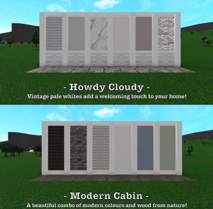 Best Roblox Bloxburg House Ideas Exterior Ideas In 2020 House Exterior Two Story House Design House Blueprints