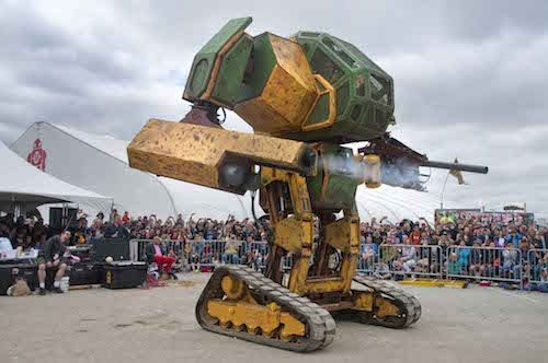The Rise Of The 15-Foot Tall Fighting Robot: An Interview with MegaBots Co-Founder Gui Cavalcanti