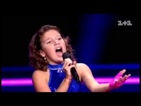 Solomia - Time to say goodbye - the voice kids Germany|Голос дети|Выбор вслепую|Соломия Лукьянец - YouTube
