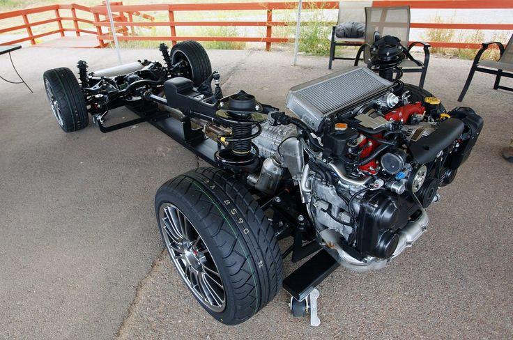 Subaru Wrx Sti Chassis Rat Rod Beetle Concepts
