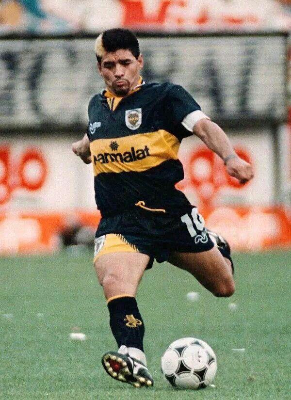 Mizuno, y esa marca? Regreso sin gloria...1995. | Boca ...