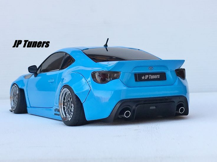 1:18 Toyota GT86 Rocket Bunny Tuning JP Tuners