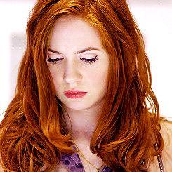 1k doctor who amy pond karen gillan ** ginger queen