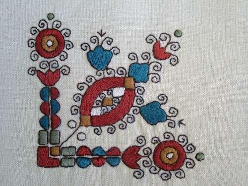 Hungarian folk costume. FolkCostume&Embroidery