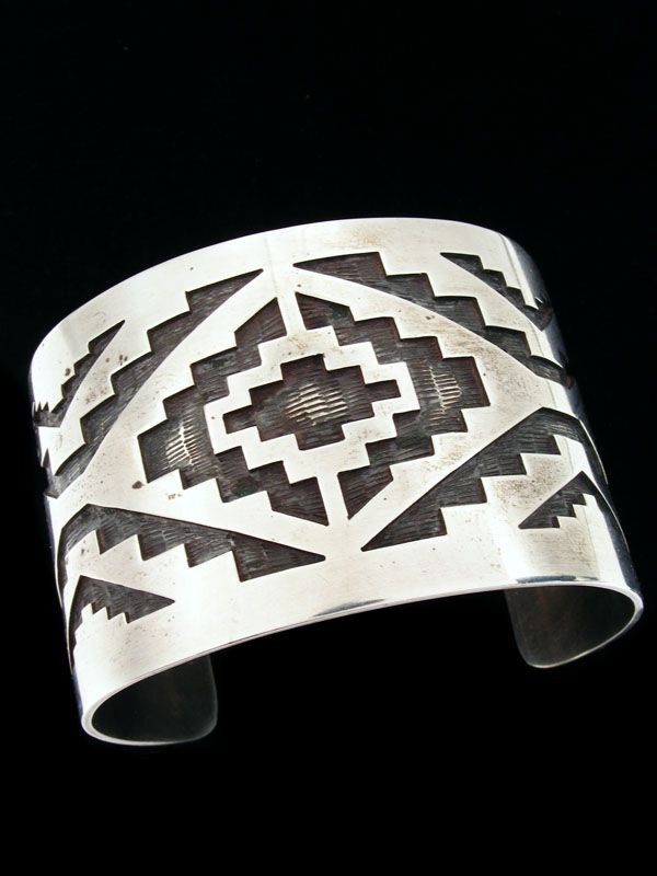 native american pattern bracelet