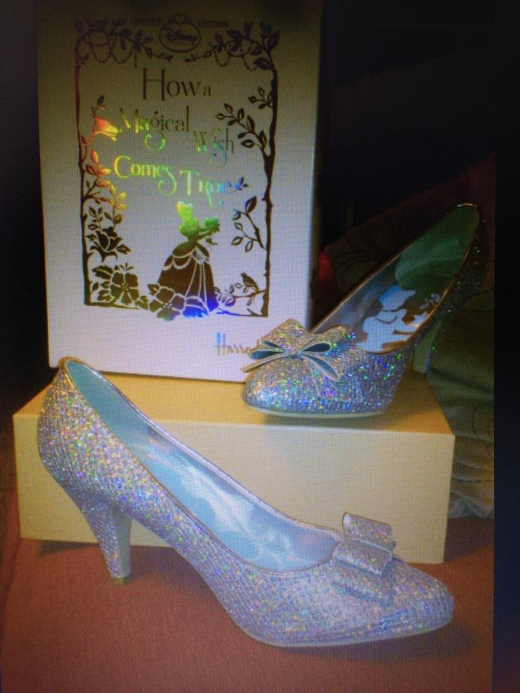 My limited edition Disney Princess shoes from Harrods.