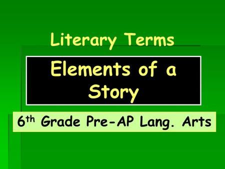 """ap terms english language arts Ap english language and composition syllabus 2018-2019   students will identify the author's style in terms of sentence structure, diction, tone , and figurative  """"the art of political lying"""" by jonathan swift """"politics and the."""
