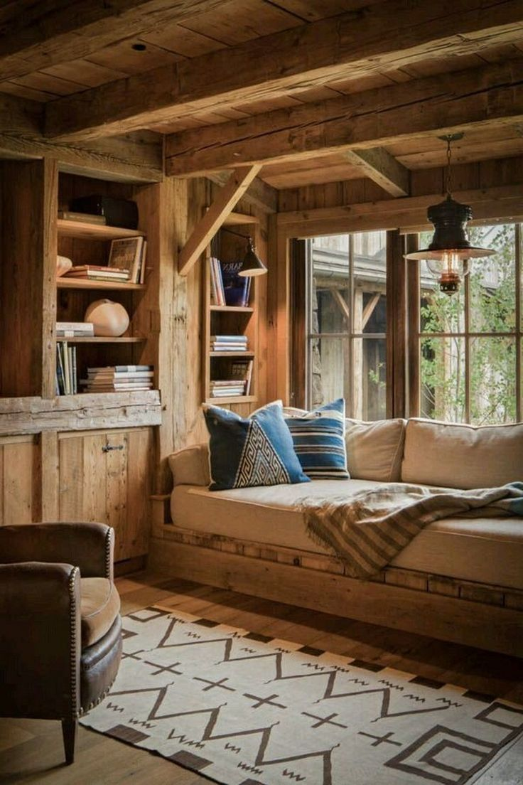 48 Amazing Rustic Window Nook Ideas