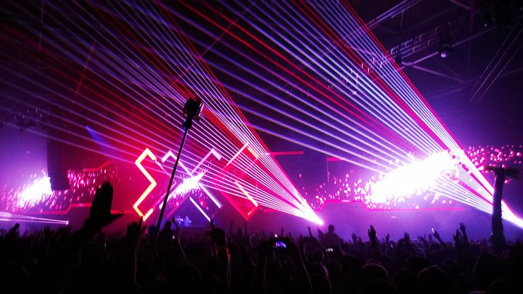 Lasers in the dark! Sponsored by: nokia