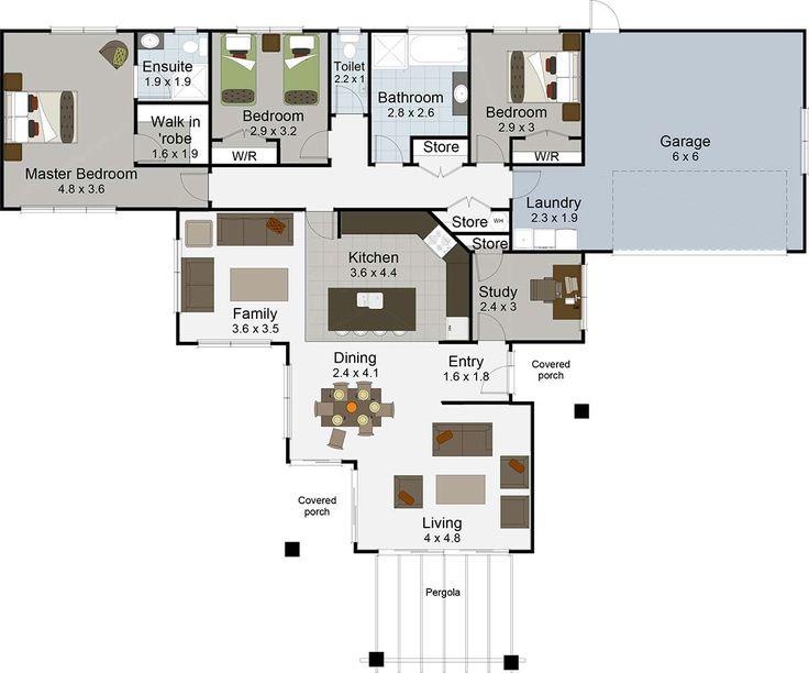 Cameo 3 bedroom house plans Landmark builders NZ