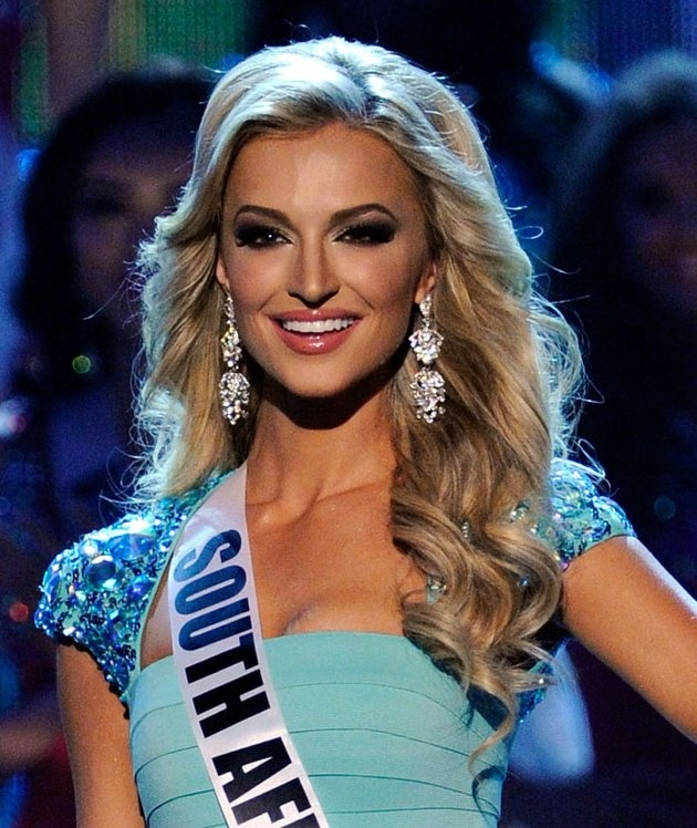 Miss South Africa, Melinda Bam Hairstyle