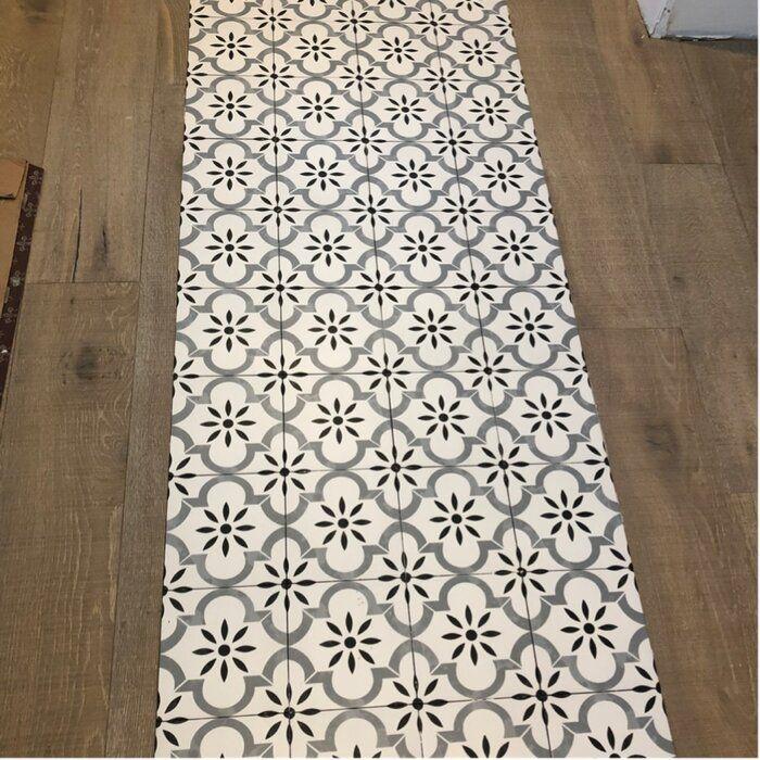 Azila 8 Quot X 8 Quot Porcelain Field Tile Master Bathroom In