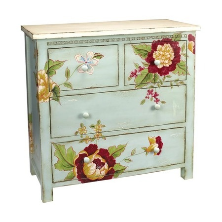 I pinned this Flora and Fauna Chest from the Style Study: Granny Chic event at Joss and Main!